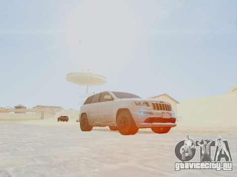 Jeep Grand Cherokee SRT8 2013 Tuning для GTA San Andreas вид справа