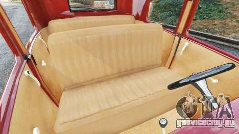 Ford Model A [mafia style] для GTA 5 вид справа