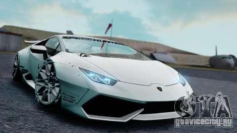 Lamborghini Huracan 2013 Liberty Walk [SHARK] для GTA San Andreas вид слева