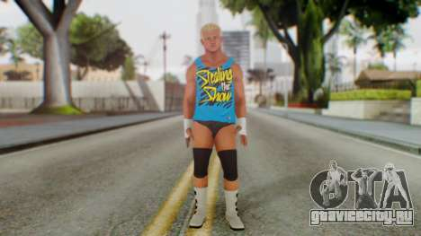 Dolph Ziggler 2 для GTA San Andreas второй скриншот