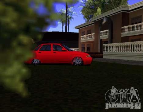 ВАЗ 2110 KBR для GTA San Andreas вид слева