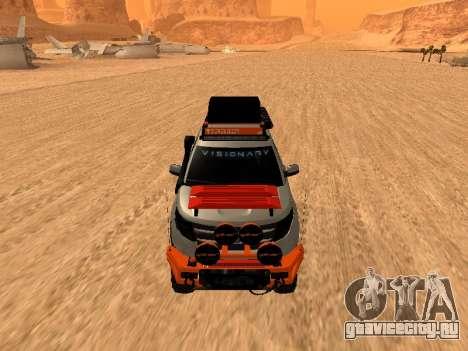 Ford Explorer 2013 Off Road для GTA San Andreas вид слева