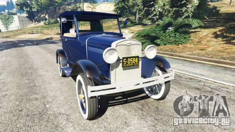 Ford Model T 1927 [Tin Lizzie] для GTA 5