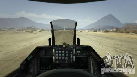 F-16C Fighting Falcon для GTA 5 четвертый скриншот