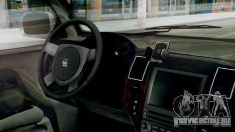 GTA 5 Albany Cavalcade II для GTA San Andreas вид справа
