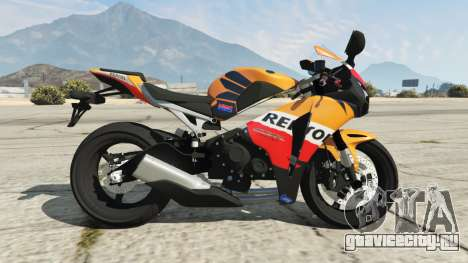 Honda CBR1000RR [Repsol] для GTA 5 вид слева