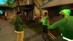 Оживление улицы Гантон для GTA San Andreas