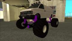 GTA 5 Vapid Speedo Monster Truck для GTA San Andreas