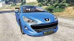 Peugeot RCZ для GTA 5