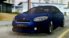 Renault Fluence King для GTA San Andreas