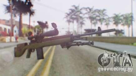 ARMA2 M14 Dmr Sniper для GTA San Andreas