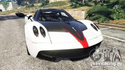 Pagani Huayra 2013 v1.1 [grey rims] для GTA 5