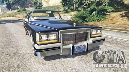 Cadillac Fleetwood Brougham 1985 для GTA 5