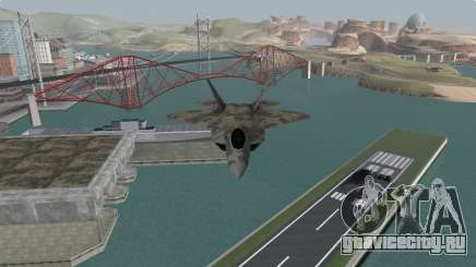 F-22 Raptor PJ для GTA San Andreas