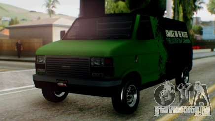 GTA 5 Brute Pony Smoke on the Water для GTA San Andreas