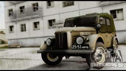 ГАЗ-69А IVF для GTA San Andreas