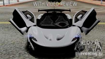 McLaren P1 GTR-VS 2013 для GTA San Andreas