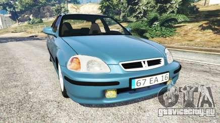 Honda Civic 1997 для GTA 5