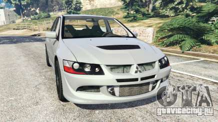 Mitsubishi Lancer Evolution VIII MR для GTA 5