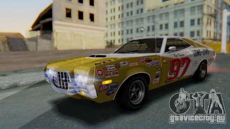 Ford Gran Torino Sport SportsRoof (63R) 1972 IVF для GTA San Andreas вид снизу