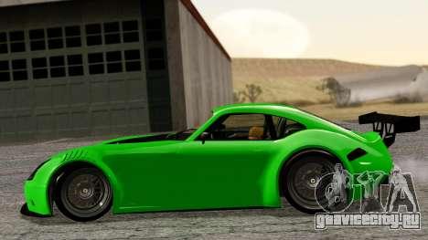 GTA 5 Bravado Verlierer Tuned для GTA San Andreas вид сзади слева