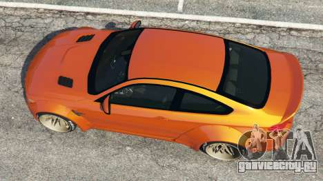 BMW M4 (F82) [LibertyWalk] v1.1 для GTA 5 вид сзади