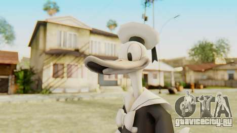 Kingdom Hearts 2 Donald Duck Timeless River v1 для GTA San Andreas