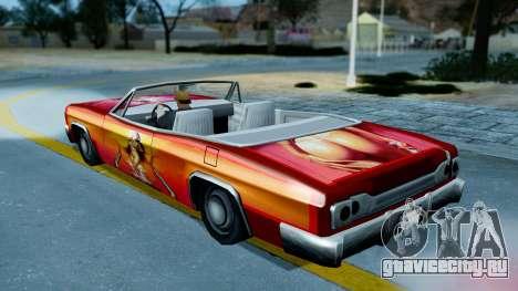 Slamvan New PJ для GTA San Andreas вид справа