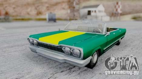 Savanna F&F4 Chevy PJ для GTA San Andreas