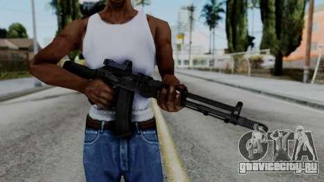 Arma OA AK74-100 для GTA San Andreas третий скриншот