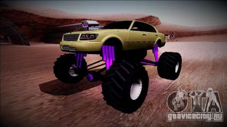 GTA 4 Washington Monster Truck для GTA San Andreas