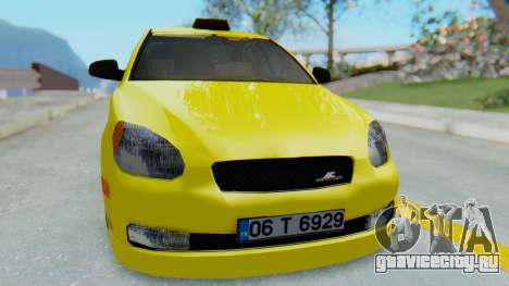 Hyundai Accent Era для GTA San Andreas вид справа