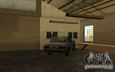 Автомастерская в доках для GTA San Andreas четвёртый скриншот