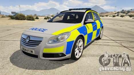 Police Vauxhall Insignia Estate для GTA 5