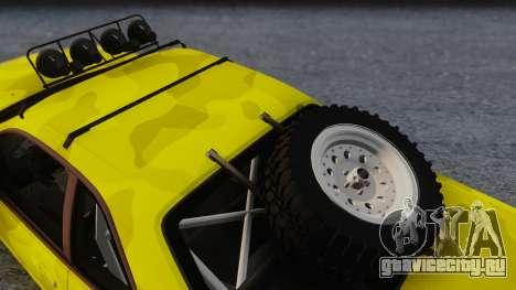 Nissan Skyline R34 Rusty Rebel для GTA San Andreas вид справа