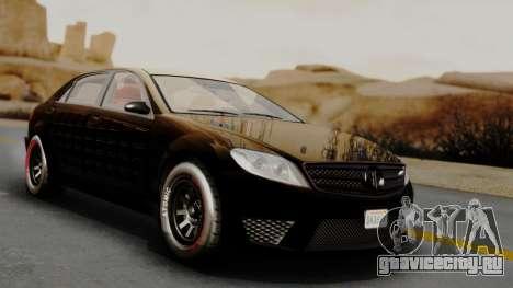 GTA 5 Benefactor Schafter LWB Arm IVF для GTA San Andreas