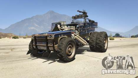 Mad Max The Gigahorse для GTA 5