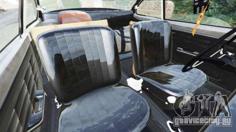 Volkswagen Karmann-Ghia Typ 14 1967 для GTA 5