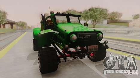 Mudmonster для GTA San Andreas вид справа
