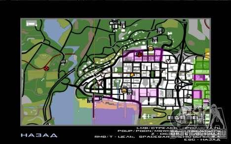 Дорожное приключение 1.0 для GTA San Andreas пятый скриншот
