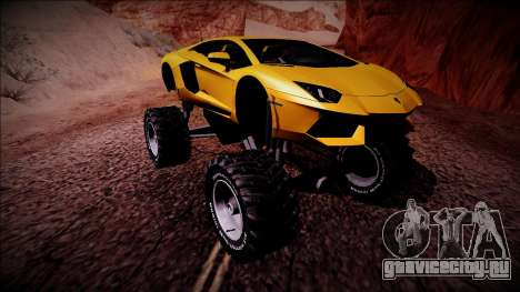 Lamborghini Aventador Monster Truck для GTA San Andreas