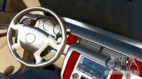 GMC Yukon Denali 2015 для GTA San Andreas вид сзади слева