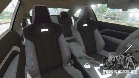 BMW M4 (F82) [LibertyWalk] v1.1 для GTA 5 вид справа