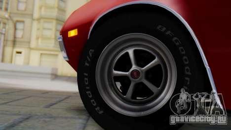 Ford Gran Torino Sport SportsRoof (63R) 1972 PJ1 для GTA San Andreas вид сзади слева
