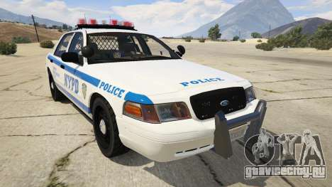 NYPD Ford CVPI HD для GTA 5