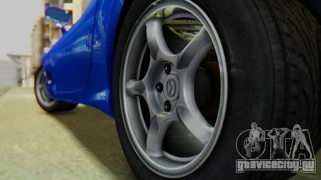 Mazda RX-7 1993 v1.1 для GTA San Andreas вид сзади