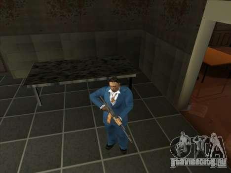 Набор русского оружия для GTA San Andreas второй скриншот