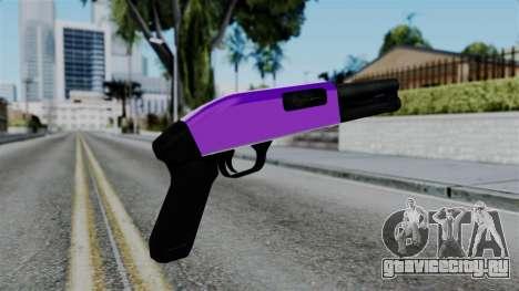 Purple Escopeta для GTA San Andreas второй скриншот