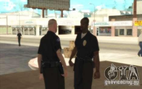 Полицейские C.R.A.S.H для GTA San Andreas третий скриншот