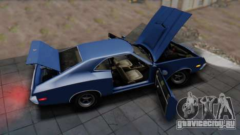 Ford Gran Torino Sport SportsRoof (63R) 1972 IVF для GTA San Andreas вид сзади